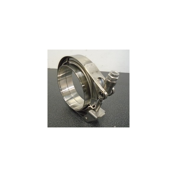 "Precision Turbo V Band Size: V-band Clamp 2,5"" Stainless"